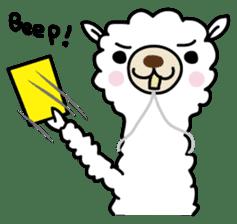 Three alpacas sticker sticker #4009731