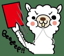 Three alpacas sticker sticker #4009732