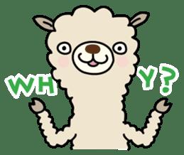 Three alpacas sticker sticker #4009733