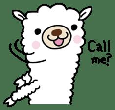 Three alpacas sticker sticker #4009735