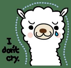 Three alpacas sticker sticker #4009737