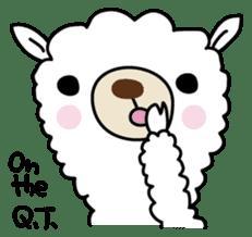 Three alpacas sticker sticker #4009743