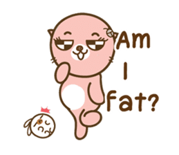 I'm not a PIG:Fat and Delicious [EN] sticker #4010946