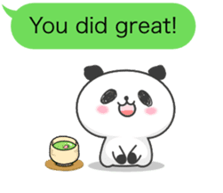 Message of panda! sticker #4011374