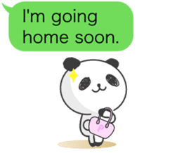 Message of panda! sticker #4011375