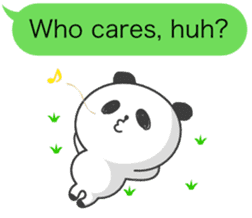 Message of panda! sticker #4011381