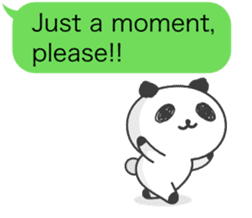 Message of panda! sticker #4011386