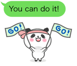 Message of panda! sticker #4011387