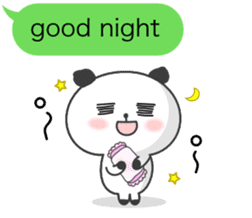 Message of panda! sticker #4011389