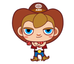 Little Cowboy Peter sticker #4018871