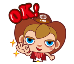Little Cowboy Peter sticker #4018874