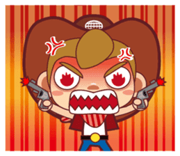Little Cowboy Peter sticker #4018879