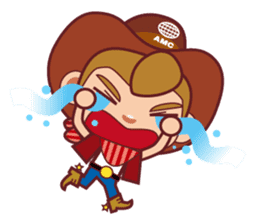 Little Cowboy Peter sticker #4018880