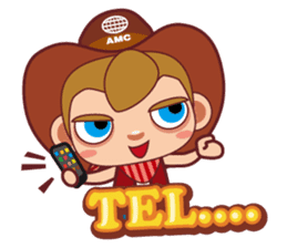 Little Cowboy Peter sticker #4018885