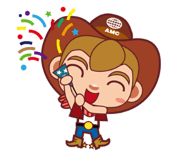 Little Cowboy Peter sticker #4018886