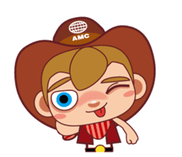 Little Cowboy Peter sticker #4018894