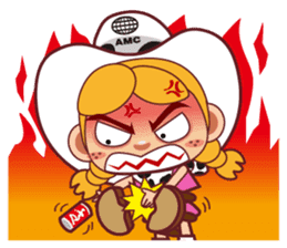 Little Cowboy Peter sticker #4018906