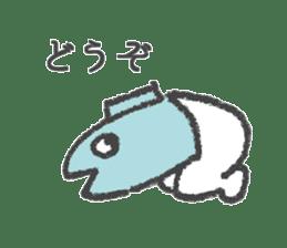 Half fish - half man sticker #4033470
