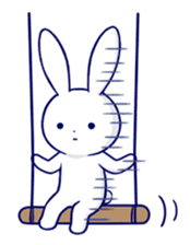 The rabbit get lonely easily 2(English) sticker #4034063