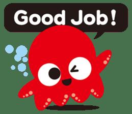 Child Octopus TAKOPON sticker #4034248