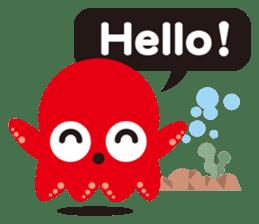 Child Octopus TAKOPON sticker #4034249