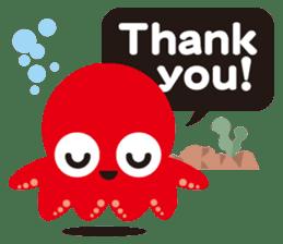Child Octopus TAKOPON sticker #4034250