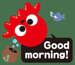Child Octopus TAKOPON sticker #4034251