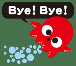 Child Octopus TAKOPON sticker #4034253