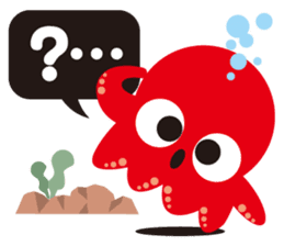 Child Octopus TAKOPON sticker #4034258