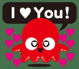 Child Octopus TAKOPON sticker #4034263