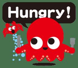 Child Octopus TAKOPON sticker #4034264