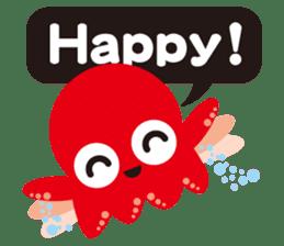 Child Octopus TAKOPON sticker #4034265