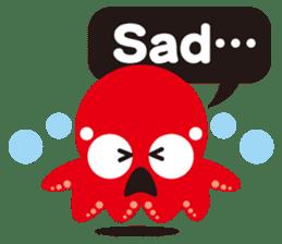 Child Octopus TAKOPON sticker #4034266