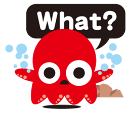 Child Octopus TAKOPON sticker #4034268
