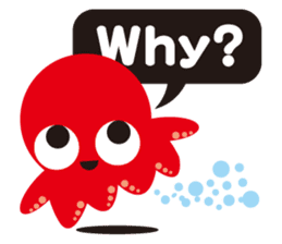 Child Octopus TAKOPON sticker #4034269