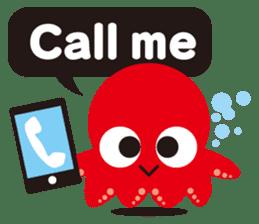 Child Octopus TAKOPON sticker #4034276