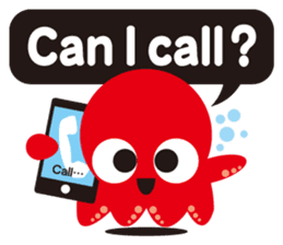 Child Octopus TAKOPON sticker #4034277