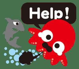 Child Octopus TAKOPON sticker #4034283