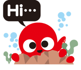 Child Octopus TAKOPON sticker #4034284