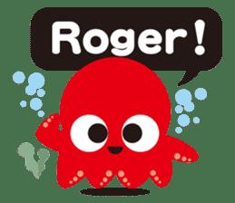 Child Octopus TAKOPON sticker #4034285