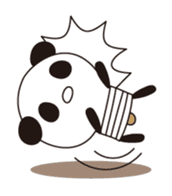 PANDA MAME is Animal of Light bulb. sticker #4034677