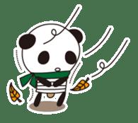 PANDA MAME is Animal of Light bulb. sticker #4034680
