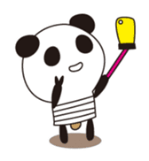 PANDA MAME is Animal of Light bulb. sticker #4034684