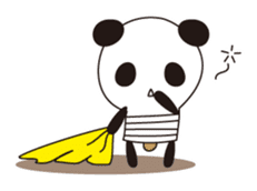 PANDA MAME is Animal of Light bulb. sticker #4034685
