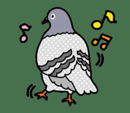 Pigeon Life sticker #4045680