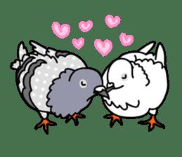 Pigeon Life sticker #4045689
