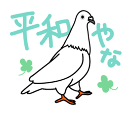 Pigeon Life sticker #4045693