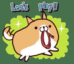lazy shiba vol.2(English) sticker #4046387