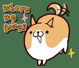 lazy shiba vol.2(English) sticker #4046388