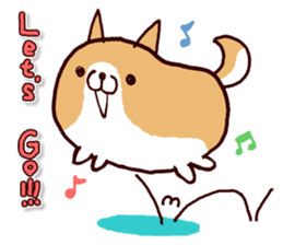 lazy shiba vol.2(English) sticker #4046389